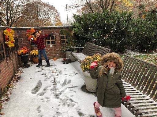 November snow day 2